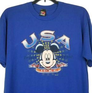 Vintage Mickey Mouse T-Shirt Made in USA Disney